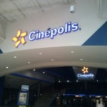 Photo taken at Cinepolis by Arthuro P. on 3/18/2013