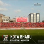 Photo taken at Stadium Sultan Muhammad IV by Wan F. on 2/7/2013