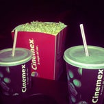 Photo taken at Cinemex by Iolanda G. on 5/19/2013