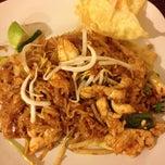 Photo taken at Sabai Sabai Thai Cuisine by Hannah G. on 4/11/2013