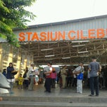 Photo taken at Stasiun Cilebut by Tri W. on 7/8/2013
