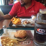 Photo taken at A&W All American Food by Mike S. on 7/31/2014