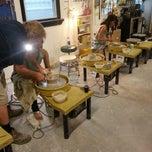 Photo taken at Charlie Parker Pottery by Mrugesh P. on 10/18/2013