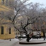 Photo taken at Санкт-Петербургский государственный архитектурно-строительный университет (СПбГАСУ) by Оксана Б. on 4/8/2013