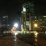 Photo taken at MH. Thamrin - Sudirman Street by Taku 春. on 2/24/2014