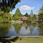 Photo taken at Minoru Park & Oval in Richmond by Hussain A. on 5/1/2013