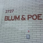 Photo taken at Blum & Poe by Jill N. on 4/25/2013