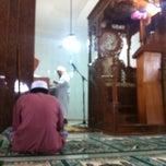 Photo taken at Masjid Jami' Al-Ikhlas by Agam M. on 3/22/2013