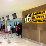 Photo taken at Golden Screen Cinemas (GSC) by Kwang Kuok T. on 4/6/2013