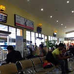 Photo taken at Bandara Sepinggan Balikpapan - Gate A6 by Rossalina B. on 4/26/2013