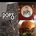Photo taken at Pop's Burger by David M. on 2/26/2013