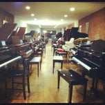 Photo taken at Beethoven Pianos by Alexandra J. on 11/28/2012