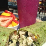 Photo taken at Liv Deli & Smoothie by Mariela D. on 5/9/2013