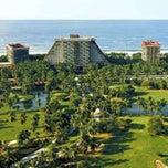 Photo taken at The Fairmont Acapulco Princess by Kikee E. on 5/21/2013