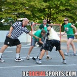 Photo taken at Crystal Rolls Street Hockey by DC Social Sports C. on 8/23/2013