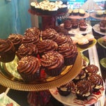 Photo taken at Lavender Moon Cupcakery by Lexi D. on 5/8/2013
