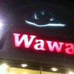 Photo taken at Wawa by Ashley J. on 10/28/2013