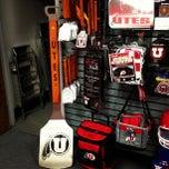 Photo taken at University of Utah Campus Store by Jeff L. on 4/24/2013