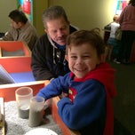 Photo taken at NC Museum of Life and Science DATA Bus Stop by Gail R. on 1/25/2015