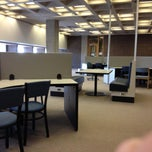 Photo taken at Homer Babbidge Library by Grace D. on 4/24/2013