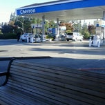 Photo taken at Chevron by Michael F. on 9/18/2011