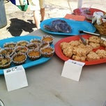Photo taken at Atlanta Vegan Bake Sale 2012 by Eat Drink Better on 4/28/2012