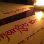 Photo taken at Mango Shiva Indian Bistro & Chai Bar by Elle M. on 6/24/2012
