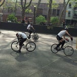 Photo taken at Bike Polo Pit by Victor O. on 4/15/2012