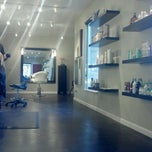 Photo taken at J Thompson Salon by Gretchen on 6/6/2012