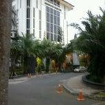 Photo taken at Gedung Rektorat Universitas Brawijaya by Oka S. on 7/15/2012