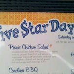 Photo taken at Five Star Day Café by Robert L. on 5/16/2013