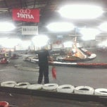 Photo taken at Interlagos karting by Gabby F. on 4/1/2013