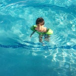 Photo taken at Rivercrest Clubhouse Pool by Heather B. on 6/11/2014