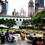Photo taken at Bryant Park by Andrew Q. on 6/3/2013