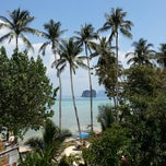 Photo taken at Koh Ngai Cliff Beach Resort by Iveta P. on 2/23/2014