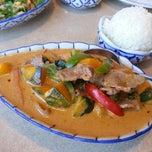 Photo taken at Baan Thai by William H. on 10/5/2014