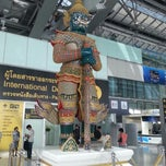 Photo taken at Departures / Check-In Hall by Masami W. on 7/2/2013