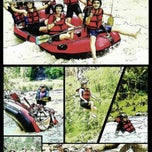 Photo taken at Mendut Rafting by suluh j. on 1/16/2014