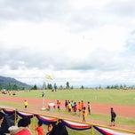 Photo taken at Kompleks Sukan Ranau by Anderson T. on 2/11/2015