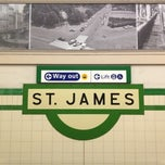 Photo taken at St James Station by Masahiro I. on 4/26/2013