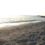 Photo taken at Spiaggia Di Paola by Francesco L. on 8/27/2013