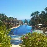 Photo taken at Columbia Beach Hotel by Екатерина Х. on 3/29/2013
