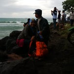 Photo taken at Pantai Anyer (Anyer Beach) by Febby C. on 1/1/2015