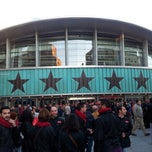 Photo taken at Palacio de Deportes de la Comunidad de Madrid by Ramón R. on 11/6/2012