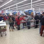 Photo taken at Kaufland by Paul I. on 2/26/2014