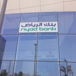 Photo taken at Riyad Bank by A7med A. on 5/19/2013