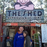 Photo taken at The Shed Barbeque and Blues Joint by Michelle S. on 12/26/2012