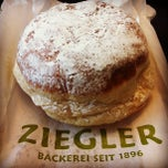 Photo taken at Bäckerei Ziegler by Ajeet P. on 3/20/2013