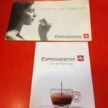 Photo taken at espressamente illy by airen c. on 1/26/2013