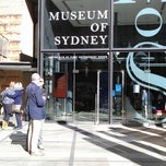 Photo taken at Museum Of Sydney by Tatiana K. on 7/20/2013